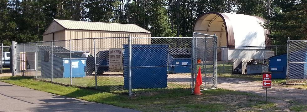 Trash Facility image Hunter Township Hayward WI